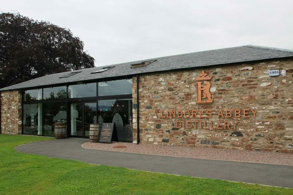 Front view of Lindores Abbey