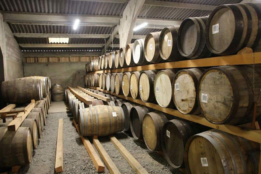 In the barrel warehous