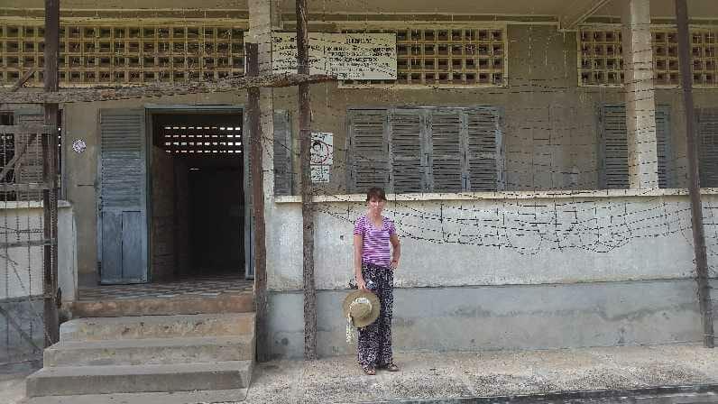 Jane in Security Prison 21 in Phnom Penh