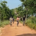 Cambodia by bike group